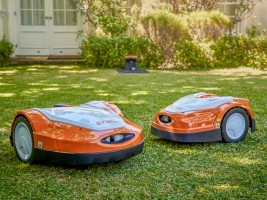 Robot lawn mowers