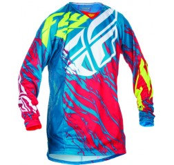 Kinetic Relapse Jersey Teal/Res/Hi-Vis-thumbnail