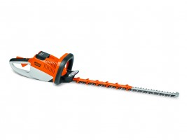 Battery-operated hedge trimmers