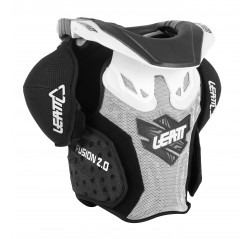Fusion vest 2.0 JR White/Black-thumbnail